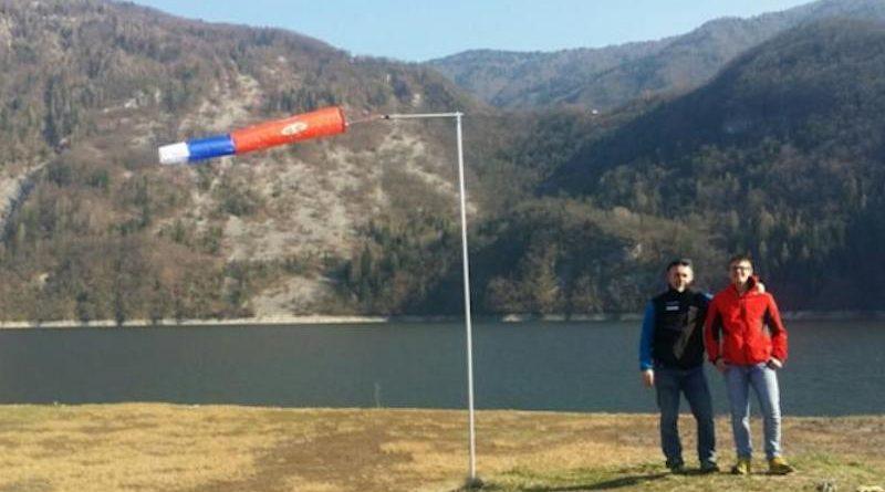 Una nuova manica a vento per un nuovo sito di atterraggio
